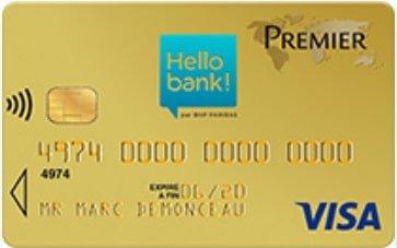 CB Visa Premier Hello Bank