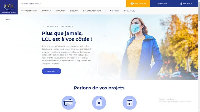 lcl compte