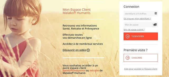 acceder espace client malakoff humanis