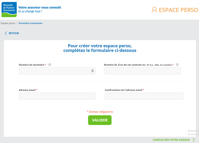 creer espace perso mutuelle poitiers assurances