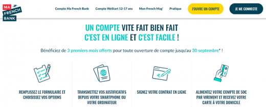 Ouvrir Compte Ma French Bank
